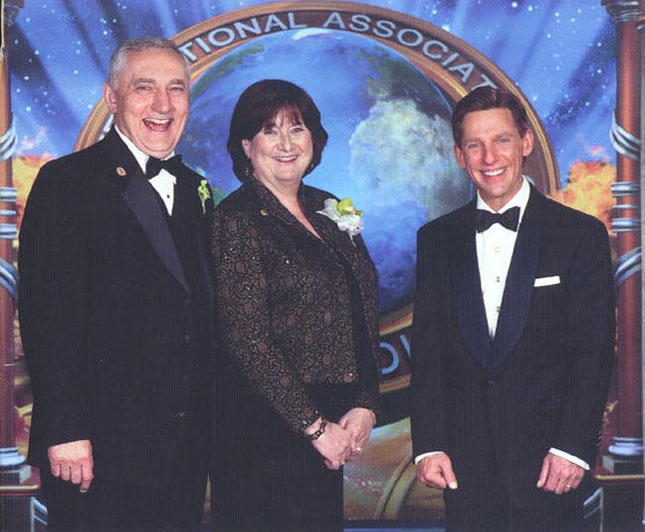 Sgroi Family and David Miscavige